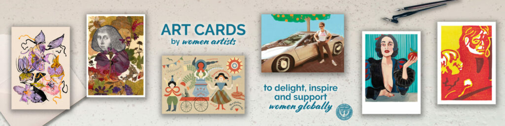 DUNYA ART CARDS made by women artists from Enschede